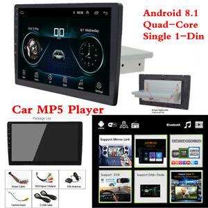"10.1"" 1Din Car MP5 Player Bluetooth Stereo Radio GPS WiFi Mirror Link DAB OBD"