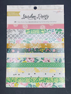"""Crate Paper MAGGIE HOLMES WILLOW LANE  PAPER PADS  2 Pads 8""""x 6"""" BRAND NEW!"""