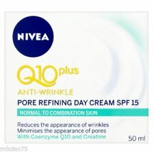 Nivea Visage Q10 Plus Anti Wrinkle Pore Refining Day Cream SPF 15 50ml
