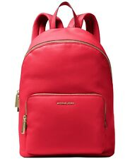MICHAEL MICHAEL KORS Wythe Large Perforated Leather Backpack - RED