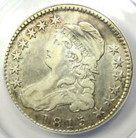1813 Capped Bust Half Dollar 50C Coin O-105 - Certified ANACS VF20 - Rare Date!