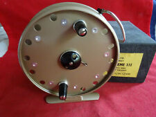 "SUPERB BOXED VINTAGE 4 3/8"" GRICE & YOUNG AVON ROYAL SUPREME III CENTREPIN REEL"
