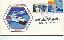 Michael Coats Sts Nasa Space Astronaut Signed Autograph Fdc