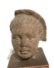 Etruscan Terracotta Votive Head 3rd / 2nd Century Bce