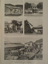 Solar Eclipse at Akkeshi Island of Yesso Japan 1896 Harper's Weekly
