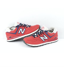 New Balance 574 Rugby Pack Canvas Lace Sneakers Shoes Rugby Red Mens Size 11.5