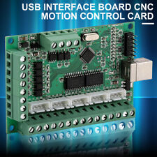 CNC USB MACH3 100Khz Breakout Board 5 Assi Interfaccia Driver Motion Controller
