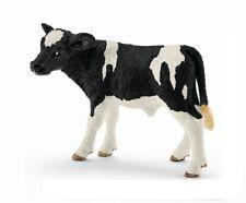 SCHLEICH 13798 vitello nero 7 cm serie animali della fattoria