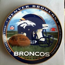 Denver Broncos NFL Decorative Helmet / Football Plate - Scarce