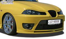 RDX Frontspoiler für SEAT Ibiza 6L Cupra Front Spoiler Lippe Vorne Ansatz