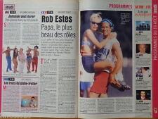 ROB ESTES Melrose Place Coupure de presse 1,5 pages 1999 - French clippings