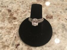 Tacori Sterling Silver 925 CZ Engagement Ring Size 6