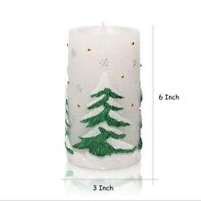 Christmas Tree Decoration Candle Light Dining/Tea Table LED Timer Ivory light
