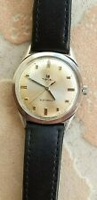 Rare LIP electronic R148 vintage watch 34mm acier steel NR