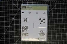 Stampin Up Best Day Ever NEW clear stamp set