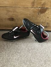 Vintage Nike Tiempo 750 SG Leather Football Boots Size 7