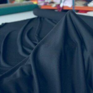 2,5m dkl blauer Baumwoll-Jersey elastisch Baumwollstoff Shirt Kleid Jerseystoff