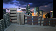 More details for n gauge 1:148 card model railway residential flats 6 x buildings p-r-002 int
