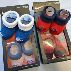 Nike Newborn Socken Infant Booties Neu 2 x 2er Pack Gr. 0-6 Monate Baby