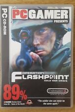 PC GAME OPERATION FLASHPOINT COLD WAR CRISIS CD ROM