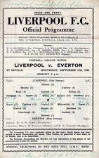 Liverpool v Everton 12.9.1945