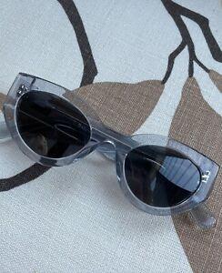 Annie Bing Emma Clear Blue Sun Glasses As New