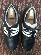 Adidas Adipure Traxion Clima Mens Golf Shoes black/white Size 10M