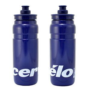 ELITE Fly Team CERVELO Water Bottle Blue , 750ml