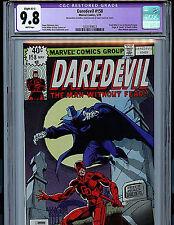 Daredevil #158 CGC 9.8 NM/MT 1979 Marvel Comics 1st Frank Miller K6