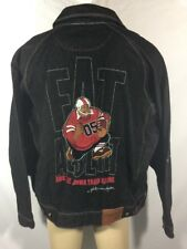 Platinum FUBU Jeans Men's Size XL Fat Albert And The Junkyard Gang  Denim Jacket