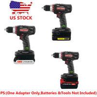 Black+Decker/Porter-Cable/Stanlery 20V Li-Ion Battery To Craftsman 19.2V Adapter