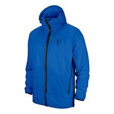 Nike HyperShield Men RF Federer Court Packable Tennis Jacket L Blue AH8385-403