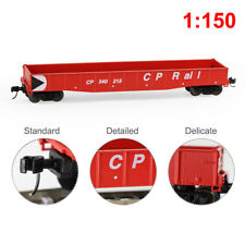 1pc/2pcs N Scale 53ft CP Rail Gondola Car Low-side 1:160 Railway Wagon
