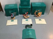 Walt Disney Classic Collection SET 4 from The Little Mermaid SERENADE MIB