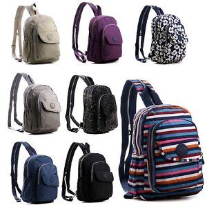 Ladies Waterproof Back Bag Girls Backpack Women Small Crossbody Shoulder Bag