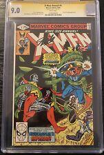 X-Men Annual #4 CGC 9.0 SS Stan Lee Signed King Size Doctor Strange Marvel