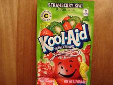 30 STRAWBERRY KIWI Kool Aid Drink Mix popsicle flavor taste summer dye party fun