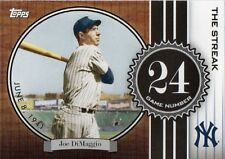 JOE DIMAGGIO 2007 Topps THE STREAK # JD24
