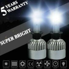 2X H1 1800W 270000LM COB LED Headlight Kit High/Low Beam Bulbs Xenon 6000K