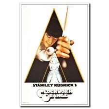 Art Print New A Clockwork Orange Hot 24x16 inch Classic Old Movie Silk Poster