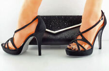 Satin Strappy, Ankle Straps Slim Heels for Women