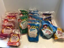 MCDONALDS HAPPY MEAL TOYS FURBY'S, HOT WHEEL, BARBIE LOT OF 21 (lot #2)