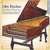 Handel: Overtures & Harpsichord Suites, John Kitchen, Audio CD, New, FREE & FAST