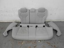 2015 14 16 17 18 BMW M3 F80 Gray Leather Heated Rear Seat Set #6304