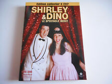 EDITION COLLECTOR 2 DVD - SHIRLEY & DINO / LE SPECTACLE INEDIT 2005 / 2006
