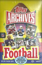 2013 Topps Archives Factory Sealed Football Hobby Box  Loaded with SP's ??