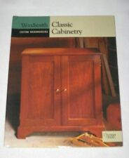 WOODSMITH Custom Woodworking CLASSICA CABINETRY Cabinet Plan Woodworker Book NEW