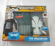 Disney Star Wars The Inquisitor Fancy Dress Costume Child Top And Mask Size 4-6