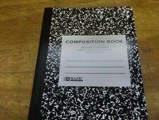 Ddi College Rule Black Marble Composition Book (Pack Of 48)