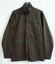 Nike Tiger Woods Platinum Golf Clima-Slim Fit Brown Jacket Coat size Small